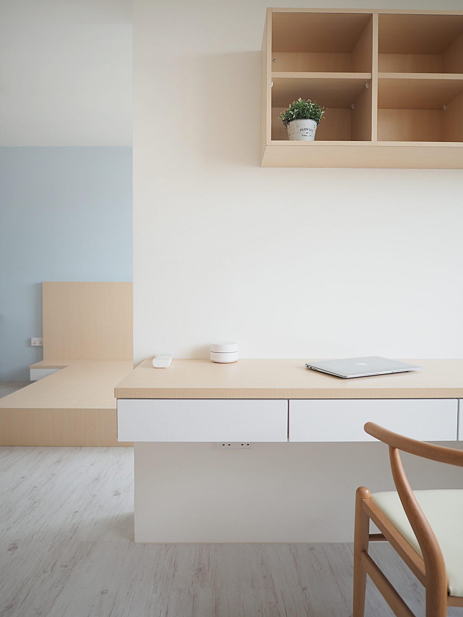 Singapore minimalist bedrooms