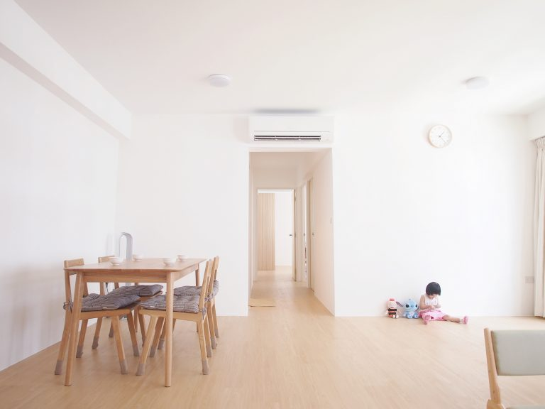House Tour: Dave and Kate's Clean and Simple Minimalist HDB Home