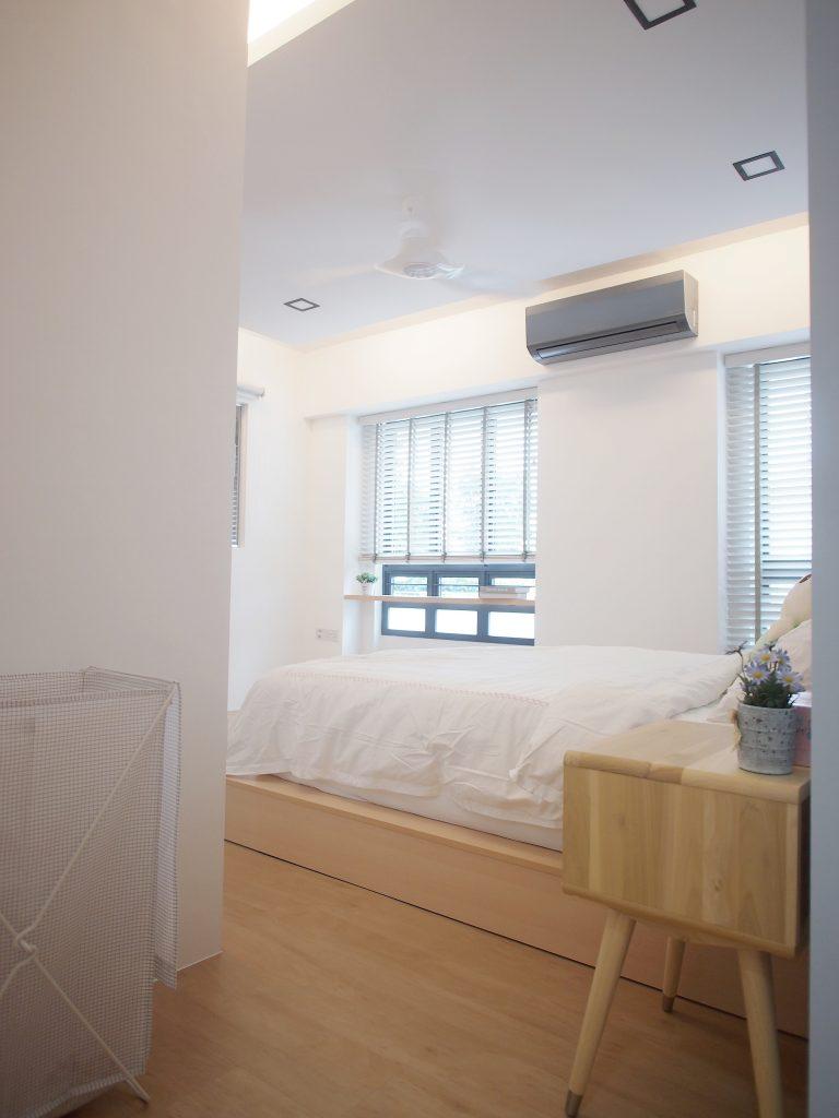 Singapore minimalist bedroom