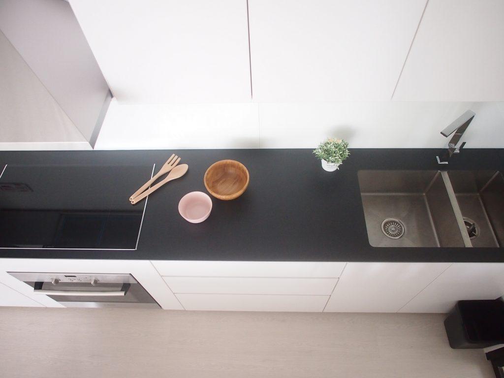 Singapore minimalist kitchen