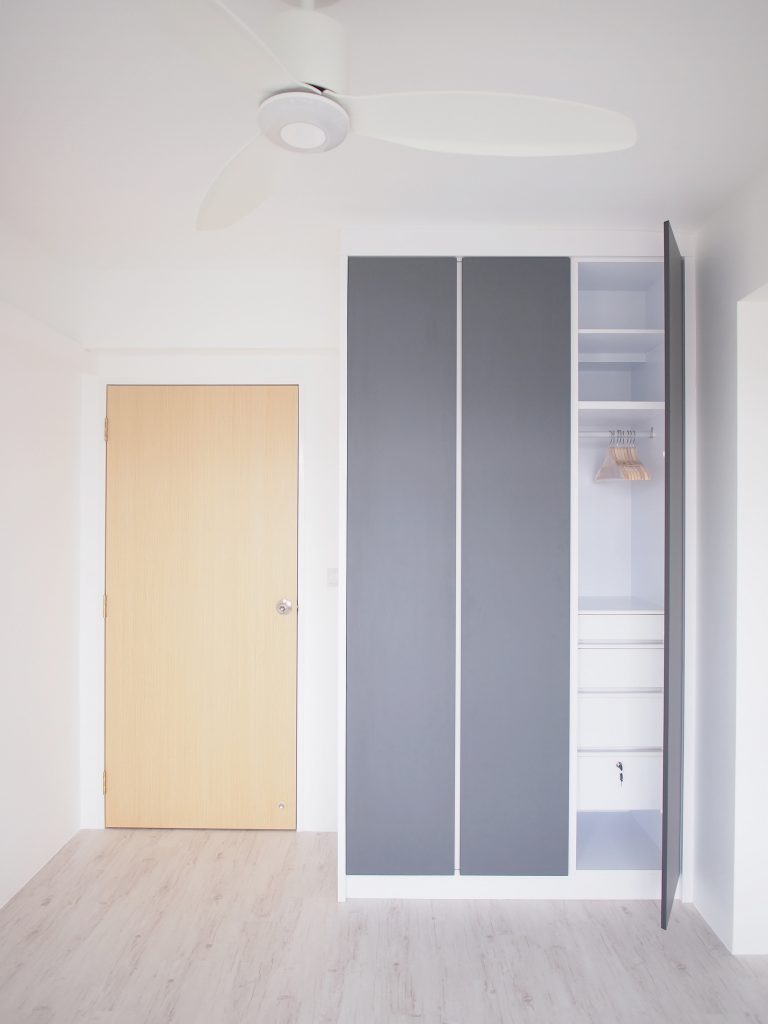Singapore minimalist cupboard