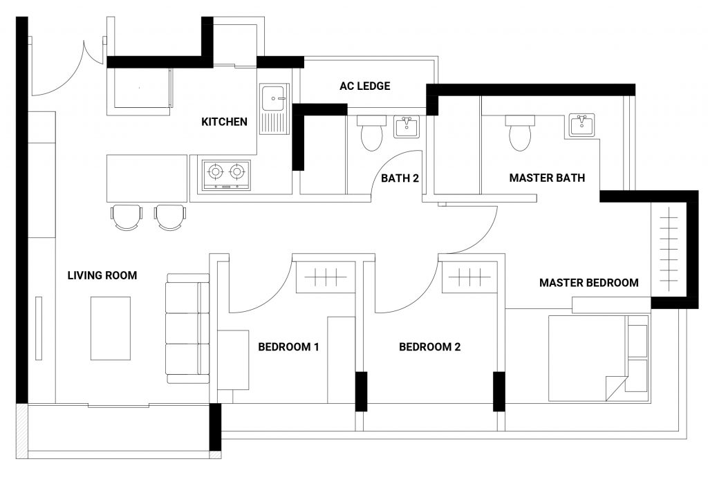coco palms floorplan