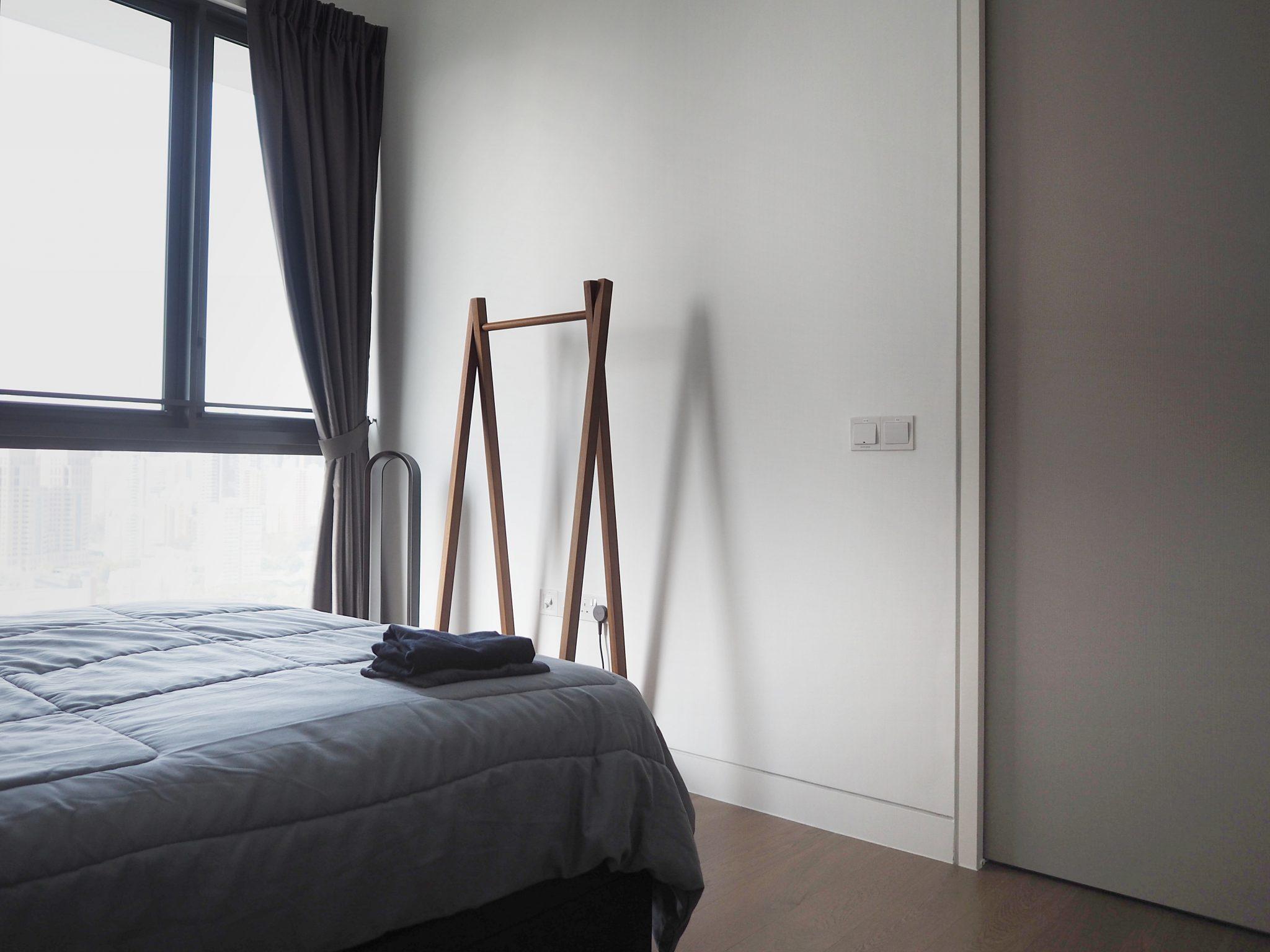 Japanese bedroom in Singapore condo