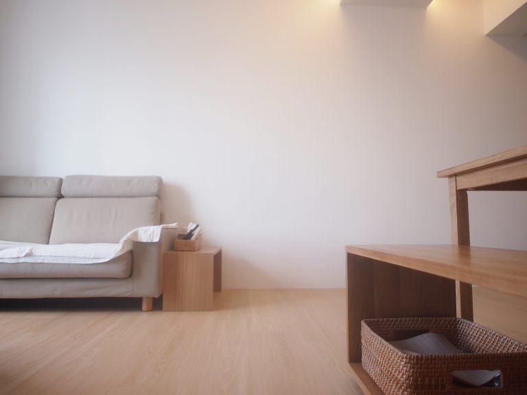 Muji style living area