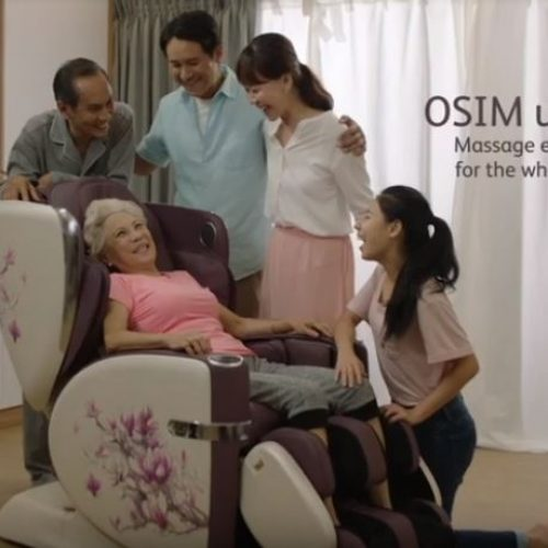 Minimalist Home Featured On Osim's Digital Ad