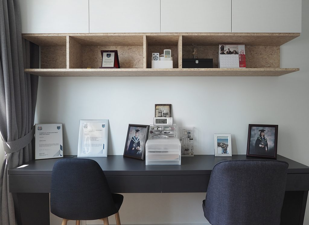 nordic scandi workspace