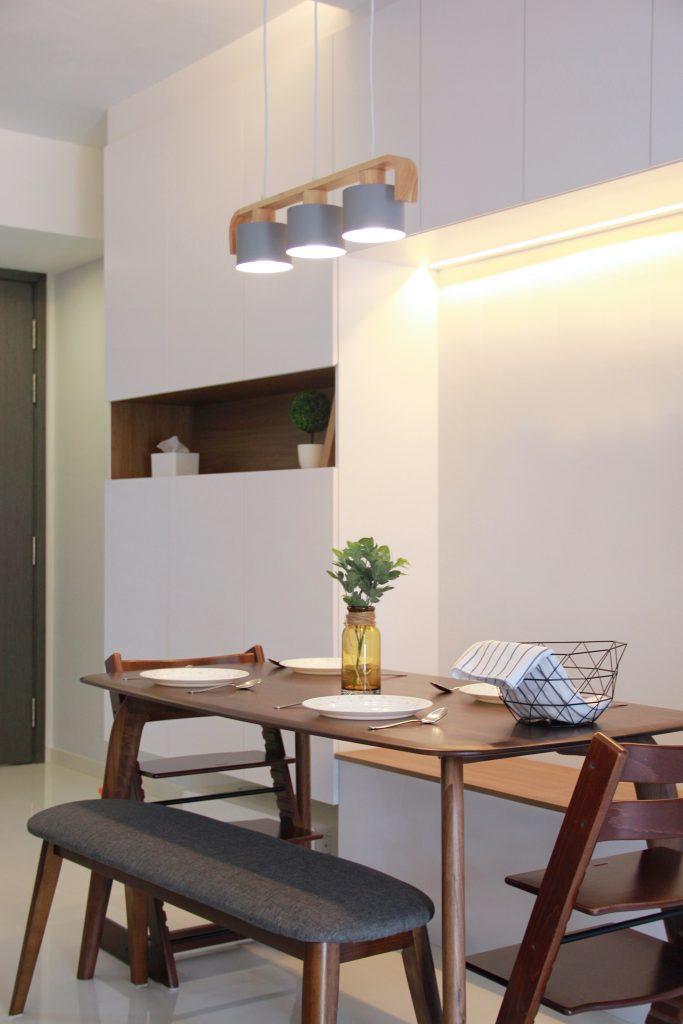 dining room condo singapore qbay