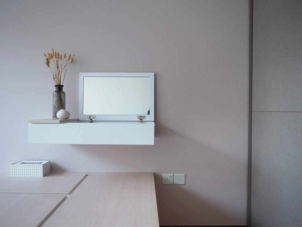 mirror dresser condo singapore
