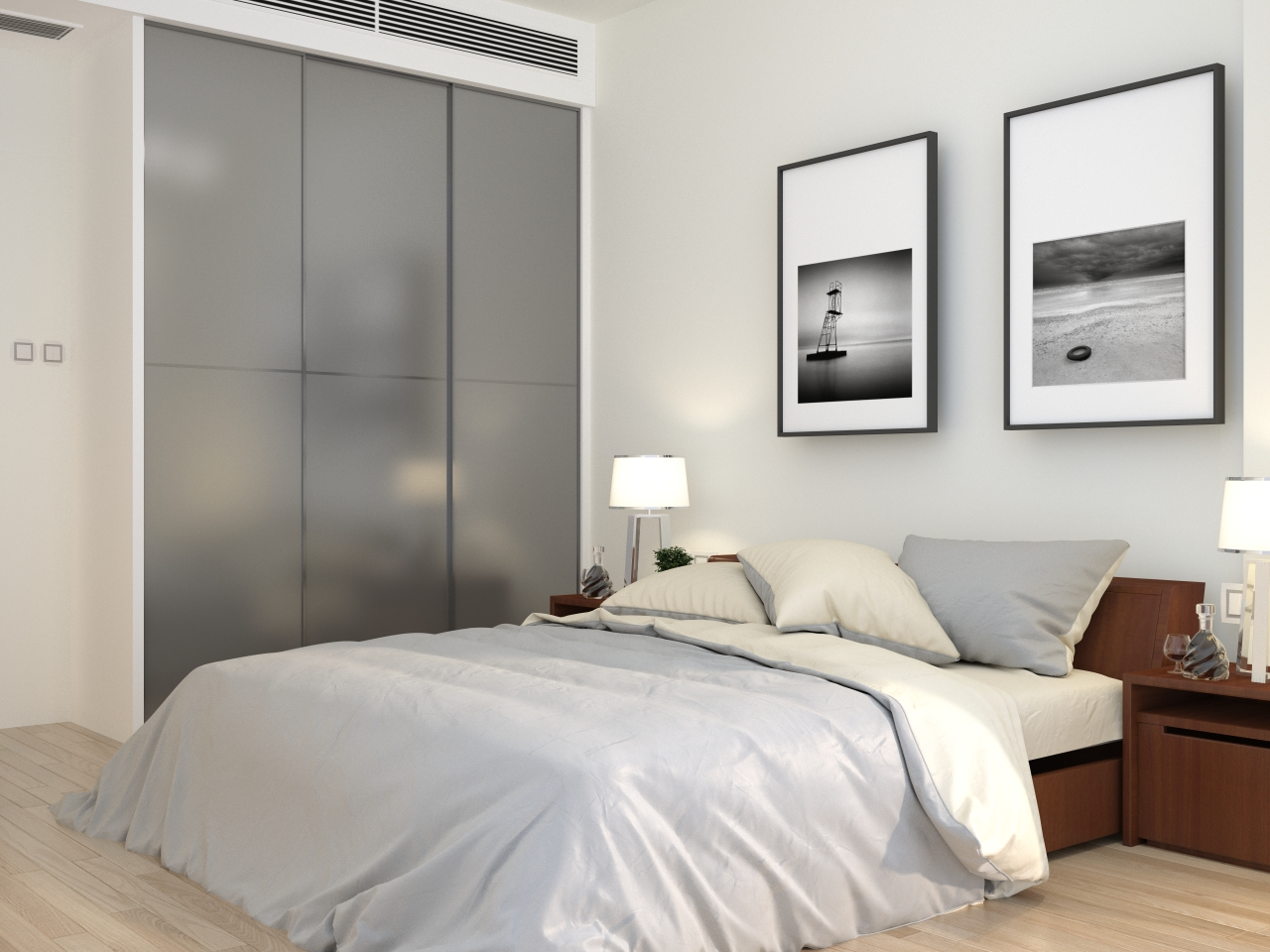 3D Drawing Singapore Bedroom 1