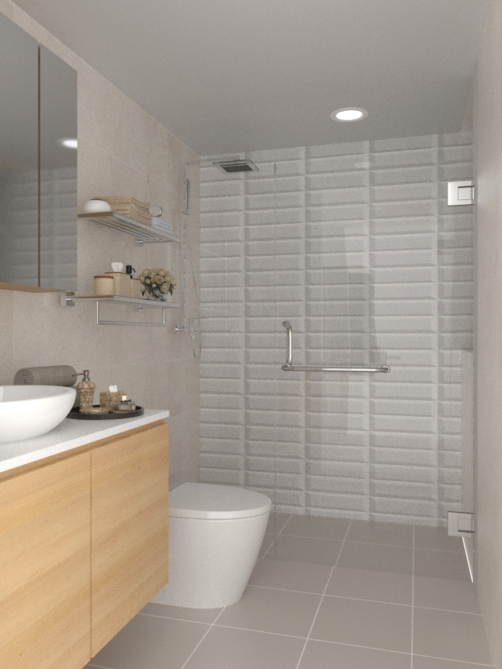3D Drawing Singapore Bath 1