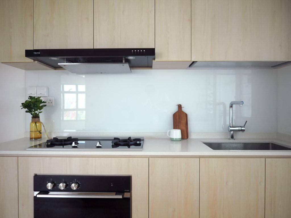 wood white kitchen singapore