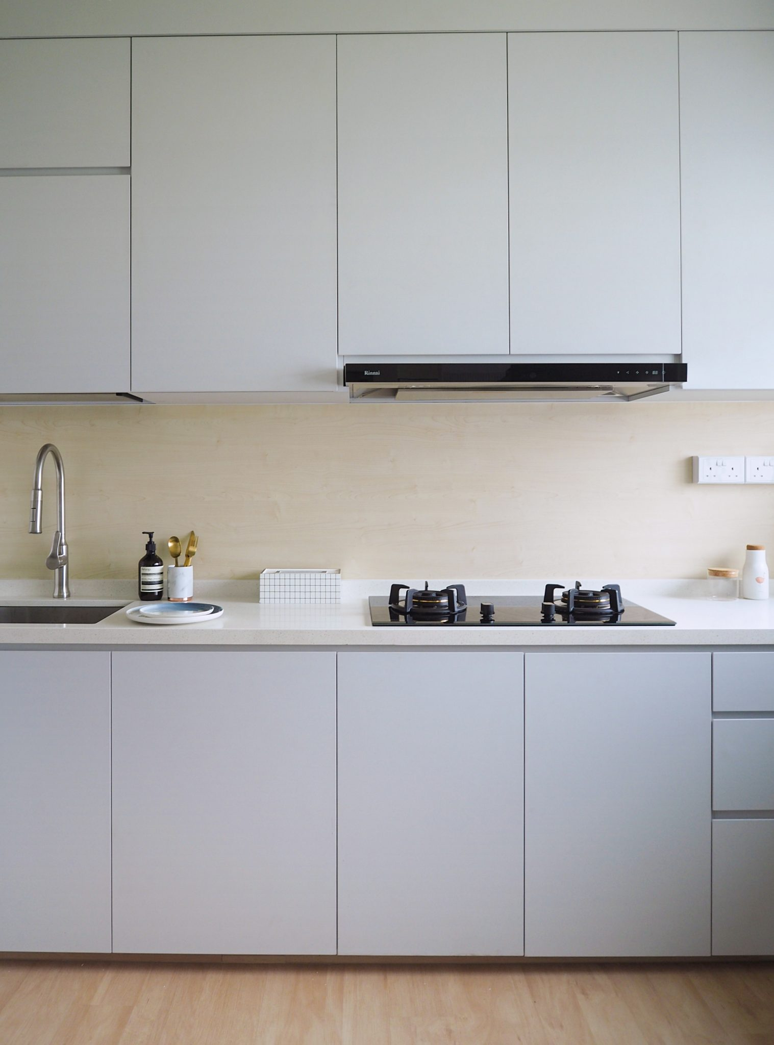 kitchen grey singapore hdb