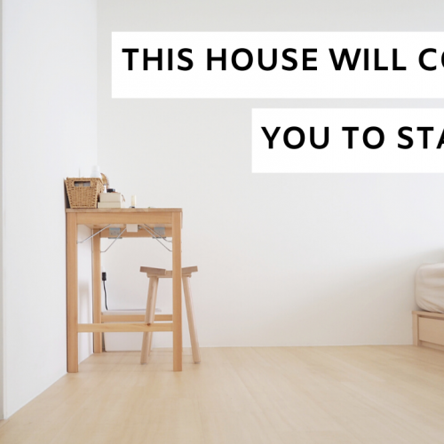 Film Ad: This House Will Convince You To Stay Home