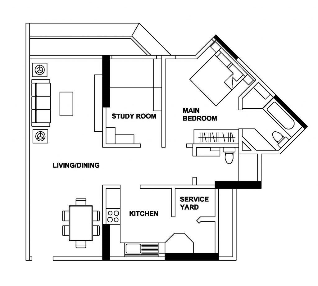 bencoolen floorplan