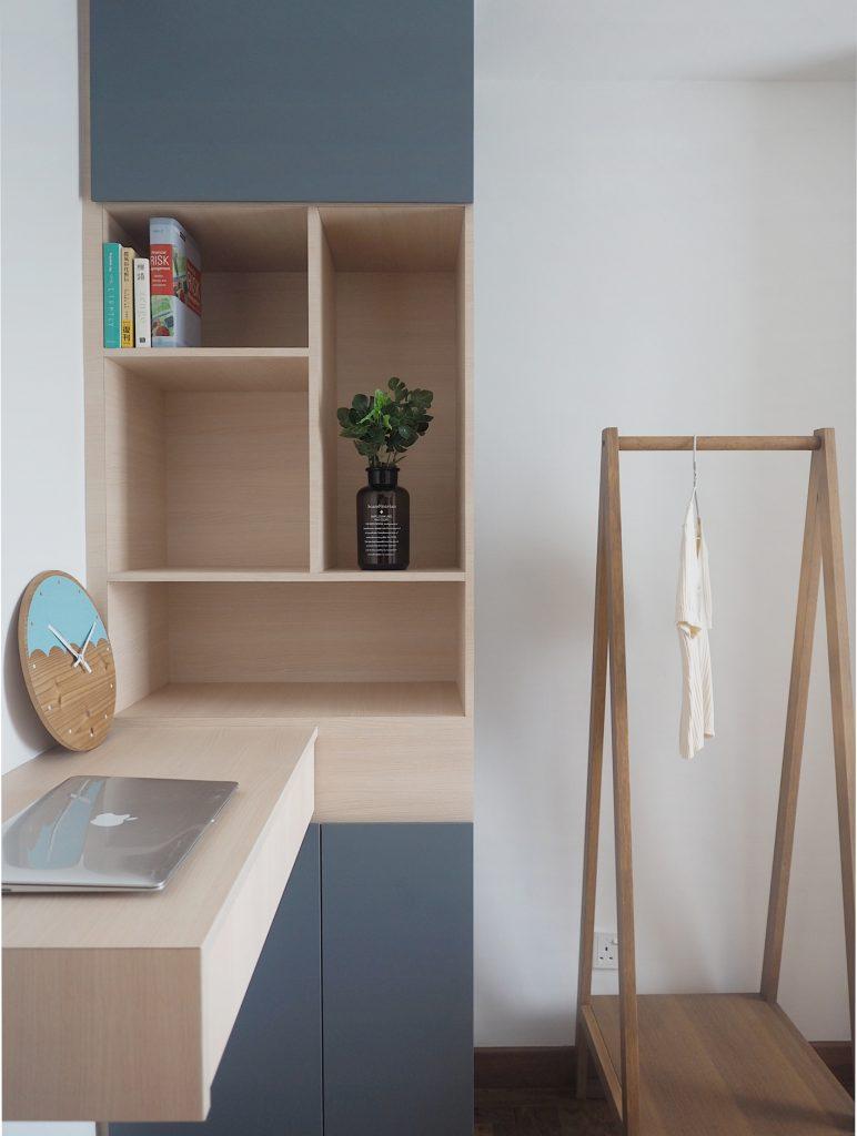 display shelves condo