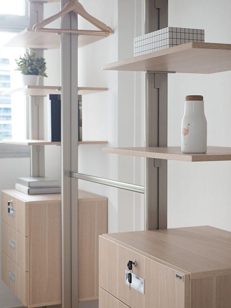pole system wardrobe singapore