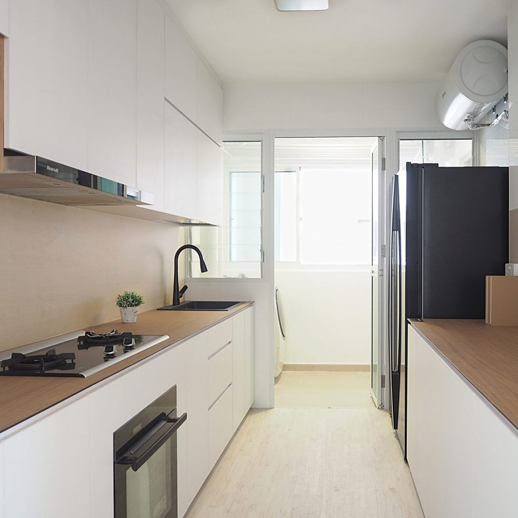 Singapore minimalist kitchens