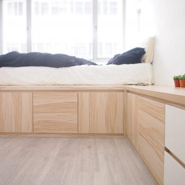 Singapore nordic bedroom